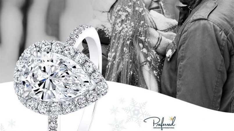 Diamond wedding jewelry sets