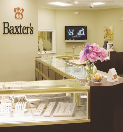Engagement rings jewelry stores certified loose diamonds for Baxter s fine jewelry
